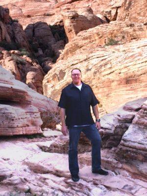 Brad Dugai on a hike