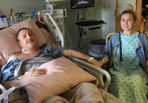 Kaleigh Whitelaw gave her dad a kidney.