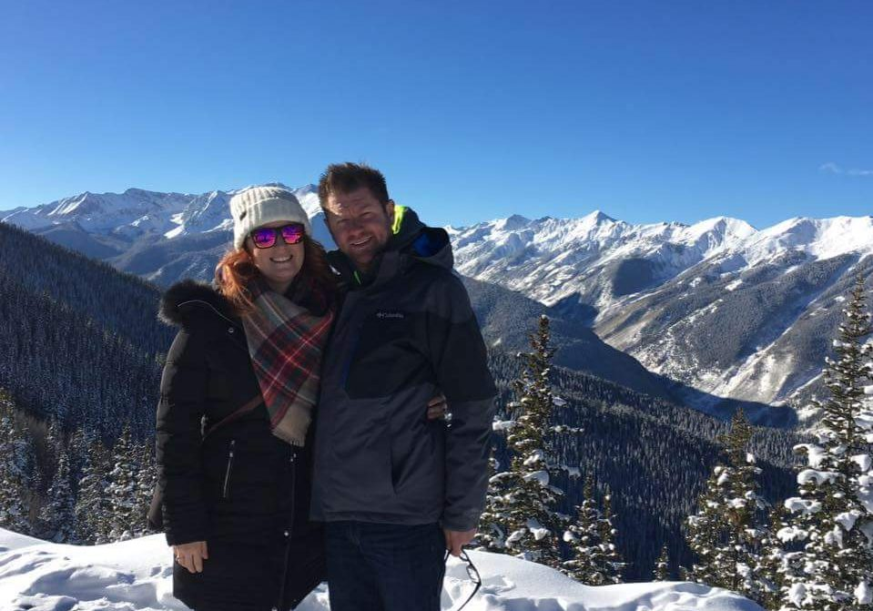 Chris and Martina Nalley at the 2016 Aspen Summit for Life.